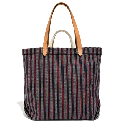 The Double-Handle Tote in Baystripe