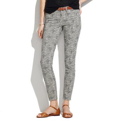 Skinny Skinny Ankle Jeans in Safari Dot