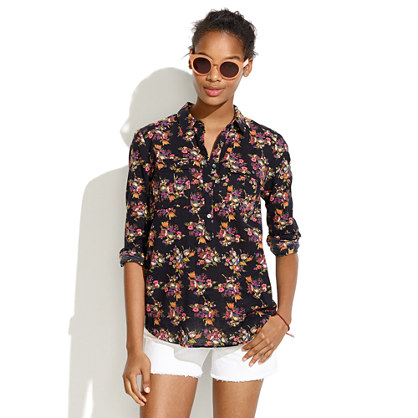 Market Popover in Mountain Floral