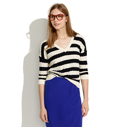 Striped Lakeview Sweater