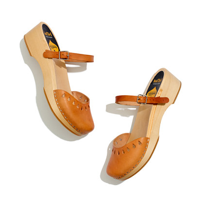 Swedish Hasbeens® Mary-Jane Clogs
