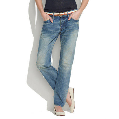 Chimala® Denim Straight-Leg Jeans