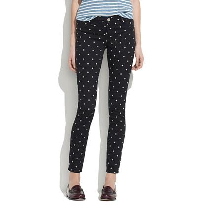 [BlankNYC] x Madewell Skinny Jeans in Polka Dot