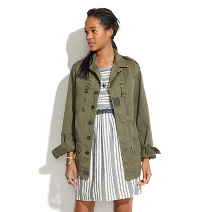 *Share With...Vintage Military Jacket
