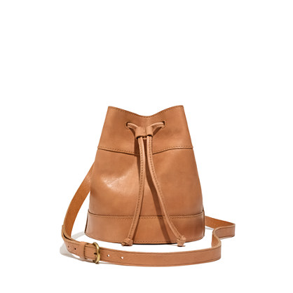 The Drawstring Bucket Bag