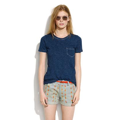 """Lauren Moffatt™ Denim """"Birdie"""" Shorts"""