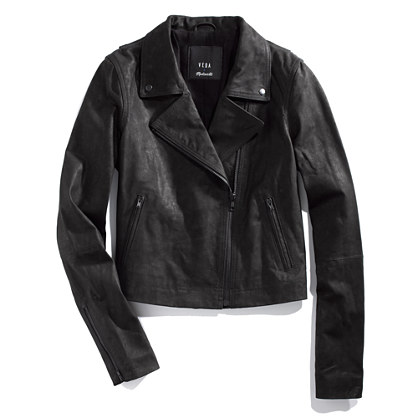 Veda® & Madewell Leather Motorcycle Jacket