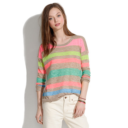 Studio Sweater in Stripepop