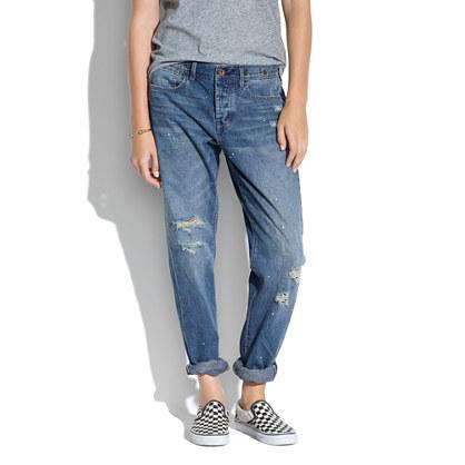 Rivet & Thread Worker Jeans in Seablue Wash