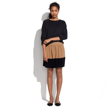 Colordrop Sweater-Skirt