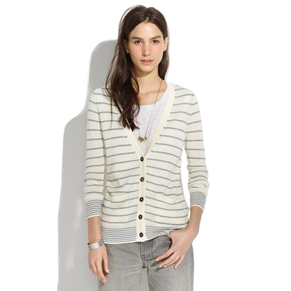 Pocket Cardigan in Stripe