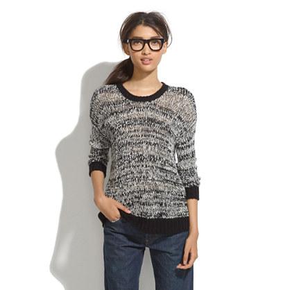 Slouch Fringe Sweater