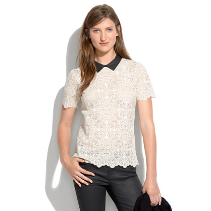 Collar Lace Top