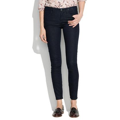 Skinny Skinny Ankle Jeans in Nightfall : skinny jeans | Madewell