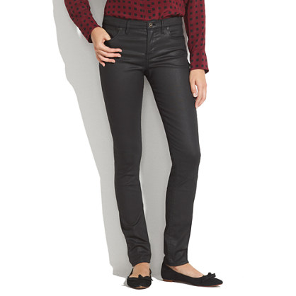 Skinny Skinny Coated Jeans