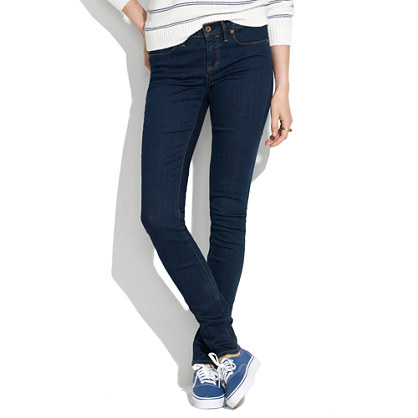 """8"""" Skinny Jeans in Madewell Rinse"""