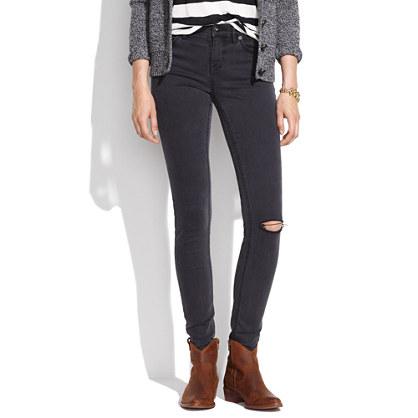 Skinny Skinny Jeans in Charcoal Wash