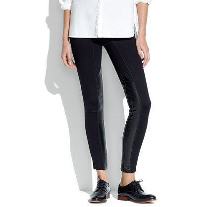 Ponte Panel Leggings
