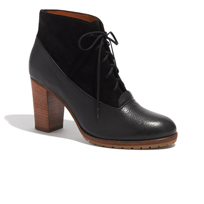 The Two-Tone Lace-Up Boot