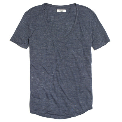 Drape Pocket Tee