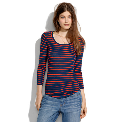 Striped Texture Tee