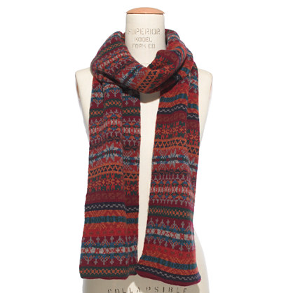 Barbour¿ Melrose Fair Isle Scarf : barbour | Madewell