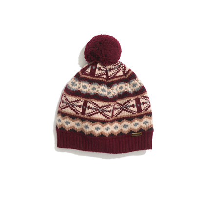 Barbour® Rowley Fair Isle Hat