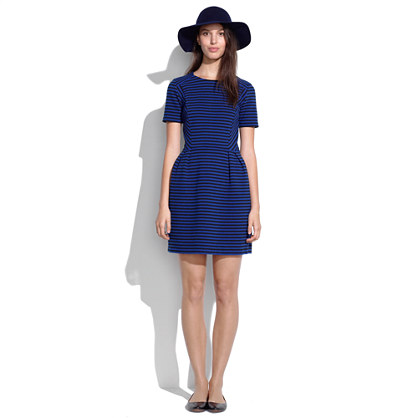 Gallerist Ponte Dress in Stripe