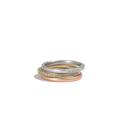 Pavé Stacking Rings