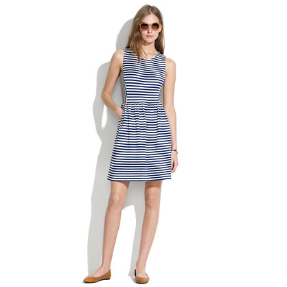 Striped Afternoon Dress