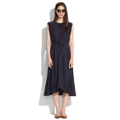 See by Chloé® Silk Tie-Waist Dress
