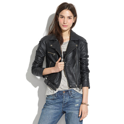 Quilted Leather Jacket : leather jackets | Madewell