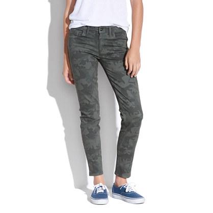 Skinny Skinny Ankle Jeans in Camo