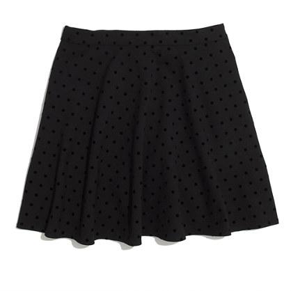 Velvetdot Skirt