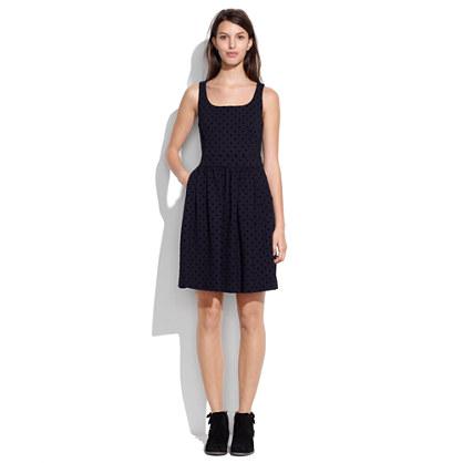 Velvetdot Dress