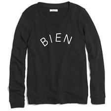 Bien Fait Sweatshirt - TRUE BLACK