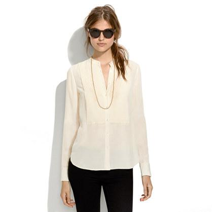 Silk Tux Shirt
