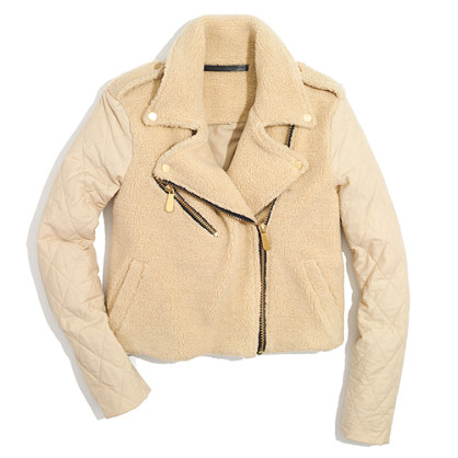 Won Hundred® Melany Quilted Shearling Jacket