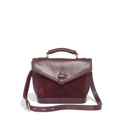 The Sloane Mini-Satchel in Suede