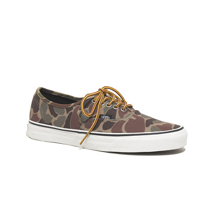 Vans® Authentic Sneakers in Camo