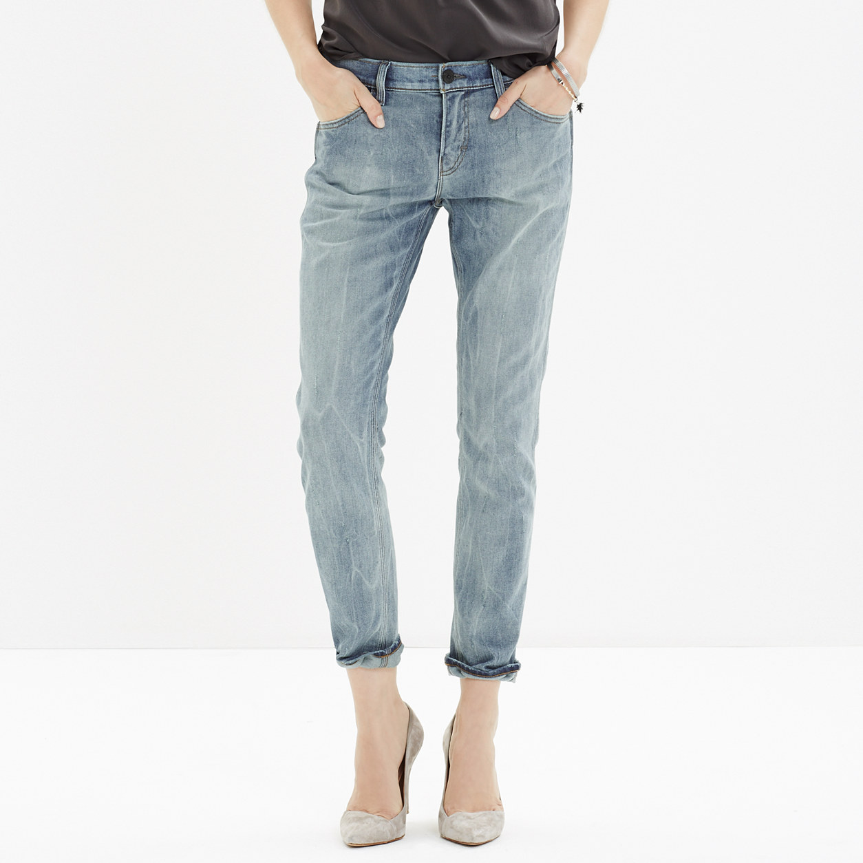 SkarGorn™ Thorn Slim Slouch Jeans : SALE | Madewell