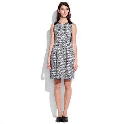 Diamond Jacquard Dress