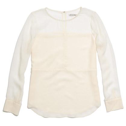 Silk Panel Top