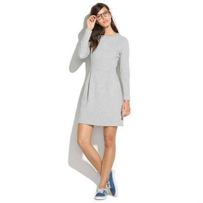 Long-Sleeve Sweatshirt Dress