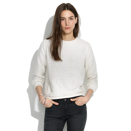 Rachel Comey Legend Cable Sweatshirt