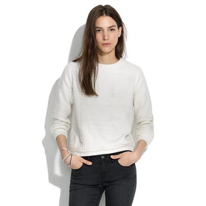 Rachel Comey Legend Cable Sweatshirt