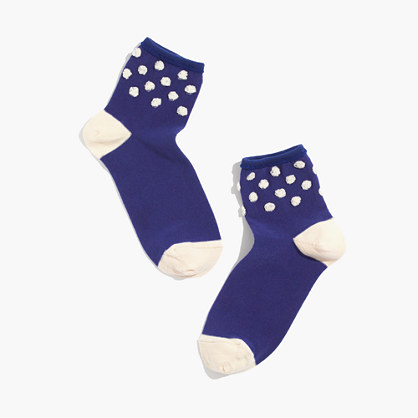Hansel from Basel™ Puff Dot Ankle Socks