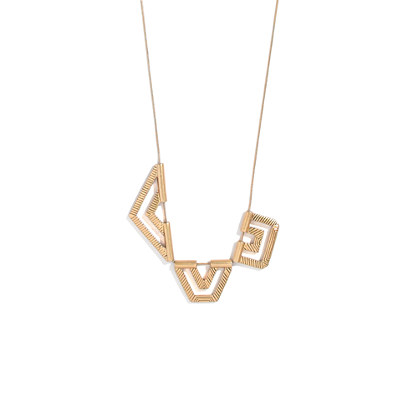 Etched Geomix Necklace