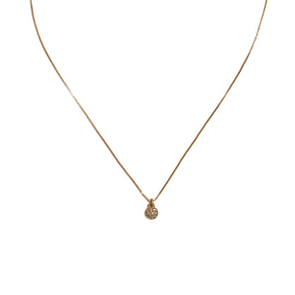 Pavé Stud Necklace
