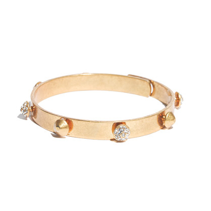 Pavé Stud Glider Bangle